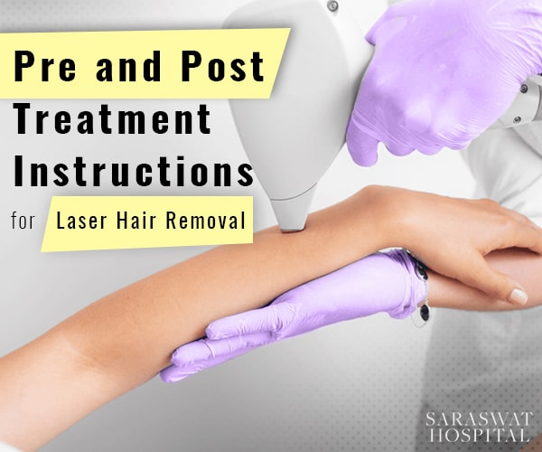 Pre and Post-Treatment Instructions for Laser Hair Removal