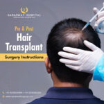 Pre and Post Hair Transplant Surgery Instructions