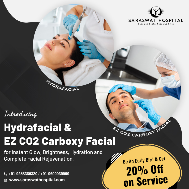 EZ CO2 Mask & HydraFacial Offers