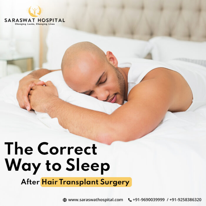 Correct Way to Sleep after Hair Transplant Surgery