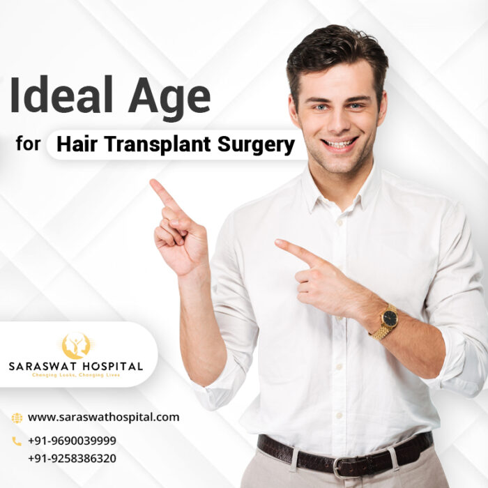 Ideal Age for Hair Transplant Surgery in India