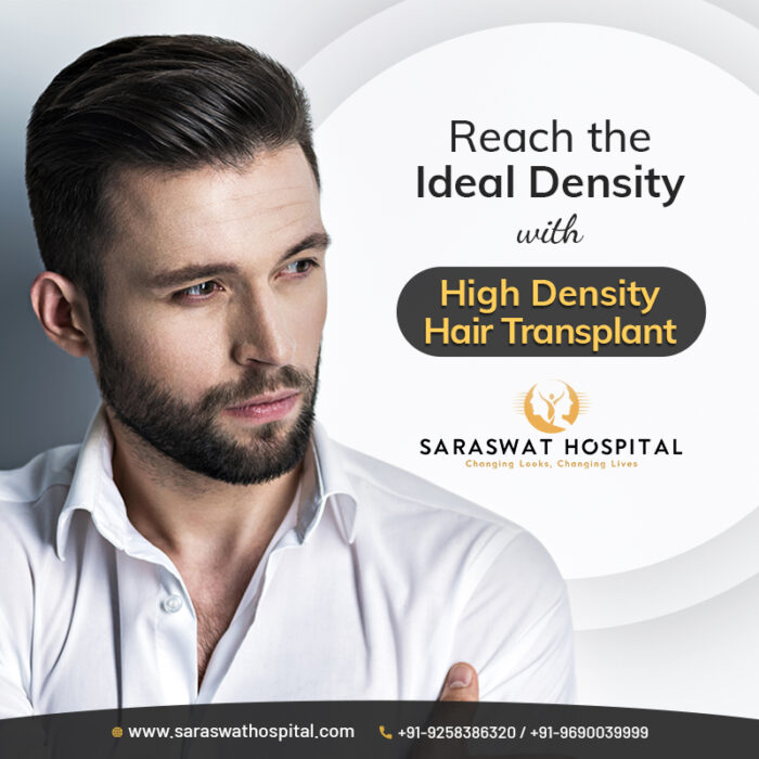 Reach the Ideal Density with High Density Hair Transplant