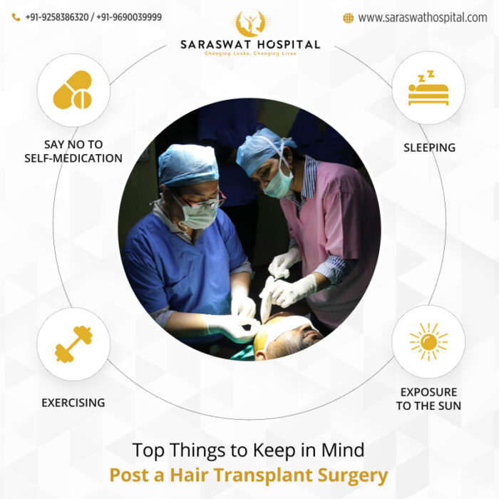 Top Rules to Follow Post a Hair Transplant Surgery