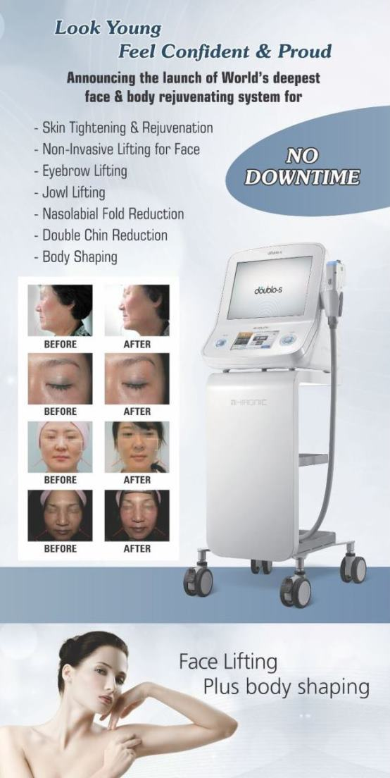 Non surgical facelift in India using hifu-ultherapy