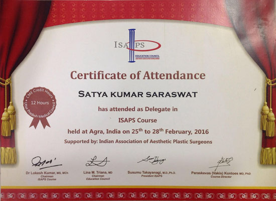 Indian Association of Aesthetic Plastic Surgeons, ISAPS