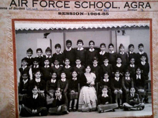 Air Force School, Agra Class VI