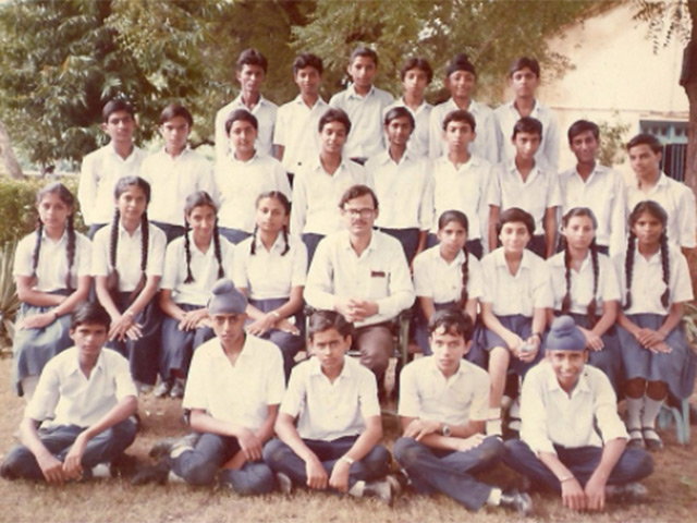 Air Force School, Agra Class X