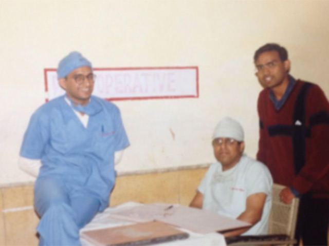 Satya Kumar Saraswat Medical Training