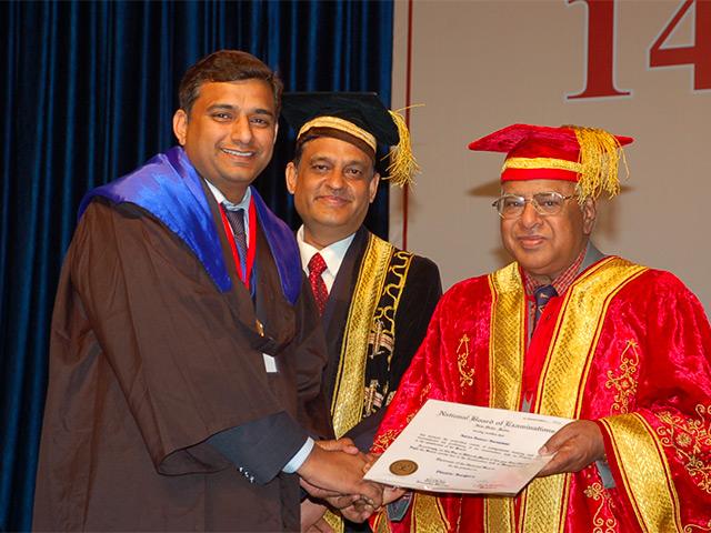 Dr. Saraswat Graduation
